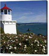 Trinidad Lighthouse California Canvas Print
