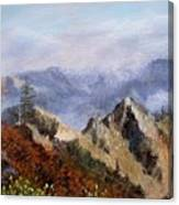 Trinity Alps Canvas Print