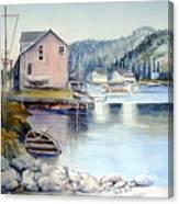 Trinity Bay Nfld Canvas Print