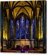 Trinity Chapel Salisbury Cathedral Canvas Print