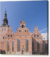 Trinity Church In Kristianstad Canvas Print