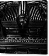 Trinity Church Pipe Organ Canvas Print