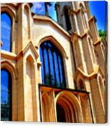 Trinity Episcopal Cathedral Columbia Sc Canvas Print