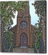 Trinity Episcopal Church Canvas Print