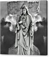 Trinity Of Stone Canvas Print