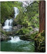Triple Kopii Falls  Canvas Print