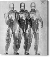 Triple Robocop Canvas Print