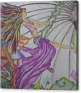 Trippin The Light Fandango Canvas Print