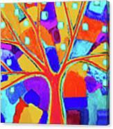 Trippy Tree Canvas Print