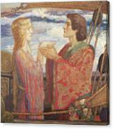 Tristian And Isolde Canvas Print