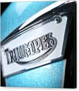 Triumph Badge Canvas Print