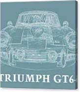 Triumph Gt6 Plus Canvas Print