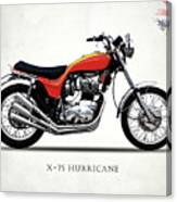 Triumph Hurricane Canvas Print