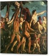Triumph Of Bacchus 1514 Canvas Print