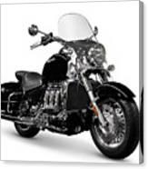 Triumph Rocket IIi Motorcycle Canvas Print