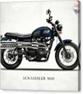 Triumph Scrambler 900 Canvas Print