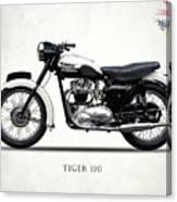 Triumph Tiger 110 1959 Canvas Print