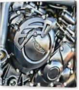 Triumph Tiger 800 Xc Engine Canvas Print