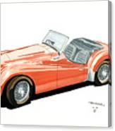 Triumph Tr2 Canvas Print