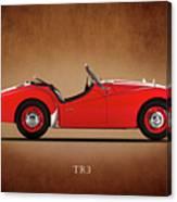 Triumph Tr3a 1959 Canvas Print