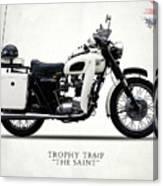 Triumph Tr6p - The Saint Canvas Print