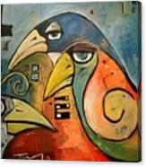 Trois Oiseaux Canvas Print