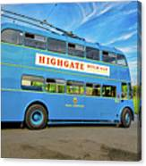 Trolleybus 862 Canvas Print