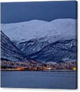 Tromso Seafront Canvas Print