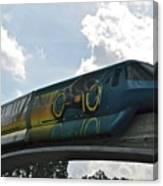 Tron Tram Canvas Print