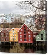 Trondheim Colors Canvas Print