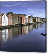 Trondheim Norway Canvas Print