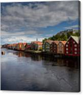 Trondheim Canvas Print