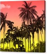 Tropical 9 Canvas Print