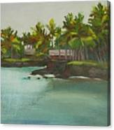 Tropical Bay Canvas Print