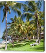Tropical Beach I. Mauritius Canvas Print