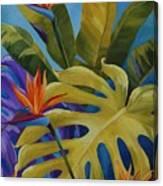 Tropical Birds Canvas Print