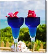 Tropical Cocktails Canvas Print