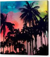 Tropical Colors Canvas Print