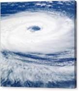 Tropical Cyclone Catarina Canvas Print