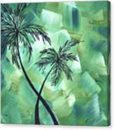Tropical Dance 3 By Madart Canvas Print