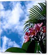 Tropical Days Canvas Print