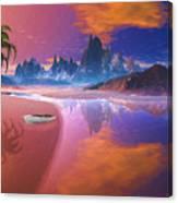 Tropical Dream Island Beach Canvas Print