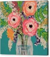 Tropical Flair Canvas Print