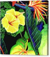 Tropical Flower Arrangement #251 Canvas Print