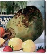 Tropical Fruit Canvas Print