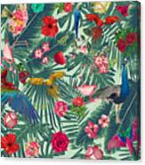 Tropical Fun Time  Canvas Print