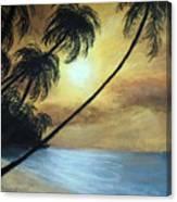 Tropical Grip Canvas Print