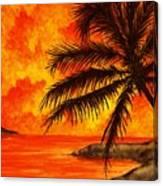Tropical Heat Canvas Print