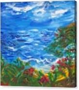 Tropical Horizons Canvas Print