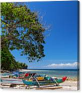 Tropical Island Panorama Paradise Canvas Print